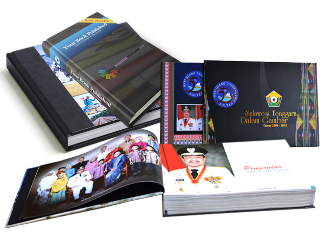 Exclusive Hard Cover Book Printing Bali