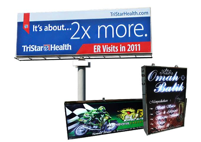 Neon Box & Billboard di MahaMeru Bali