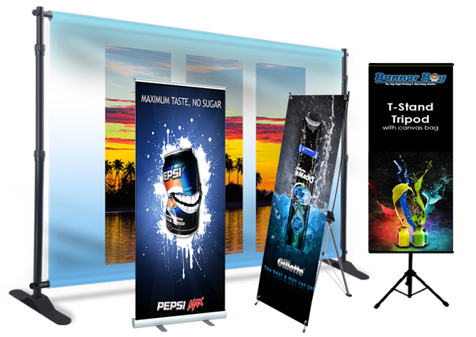 Backdrop, Roll-up Banner, X-Banner di MahaMeru Bali
